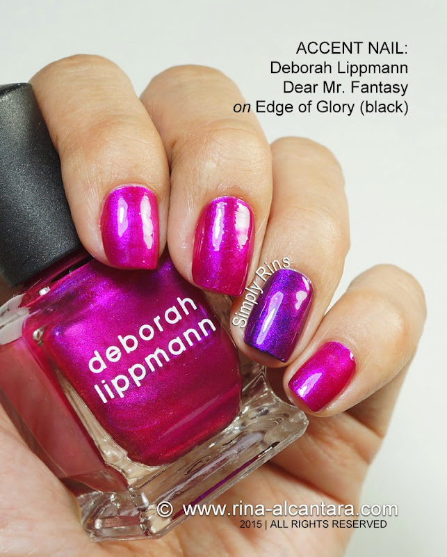Deborah Lippmann Dear Mr. Fantasic on Edge of Glory