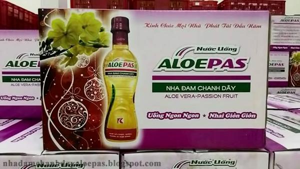 Chuyên bán sỉ và bán lẻ nước uống Nha Đam Chanh Dây ALOEPAS giá tốt nhất 3
