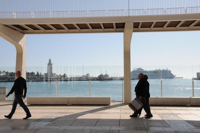 Malaga, boardwalk
