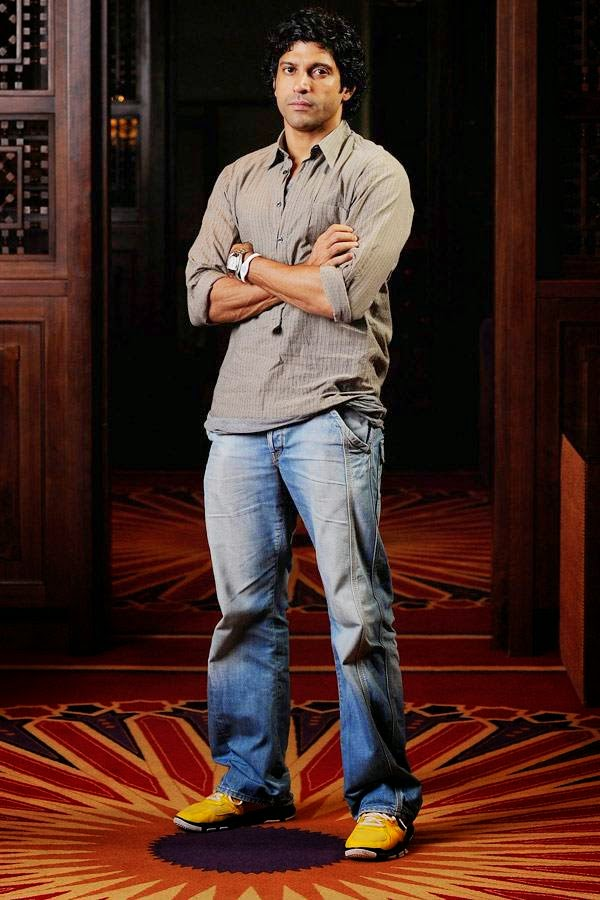 Farhan Akhtar: Multitalented Farhan Akhtar's most prized possession includes a vintage collection of Raj Kapoor's movies.