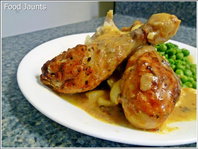 Simplified Garlic Chicken