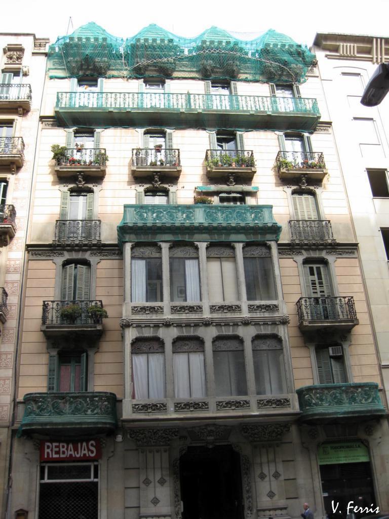 Casa baldomer rovira barcelona modernista - Permiso obras piso barcelona ...