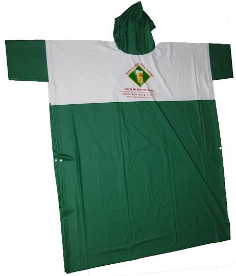 Chuyên sản xuất áo mưa, in logo lên áo mưa, áo mưa cánh dơi