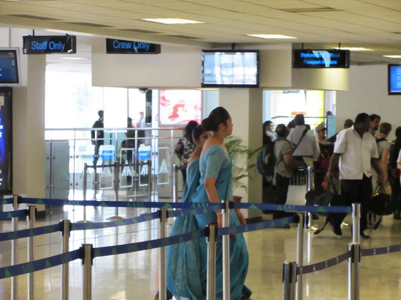 azafatas de la gran SriLankan airlines