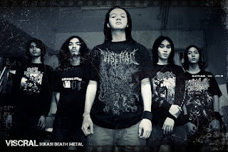 Viscral Band Extreme Death Metal Bekasi Indonesia Foto Wallpaper Artwork Cover Album