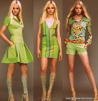 Сочетания тканей в одежде. Клетка плюс цветы