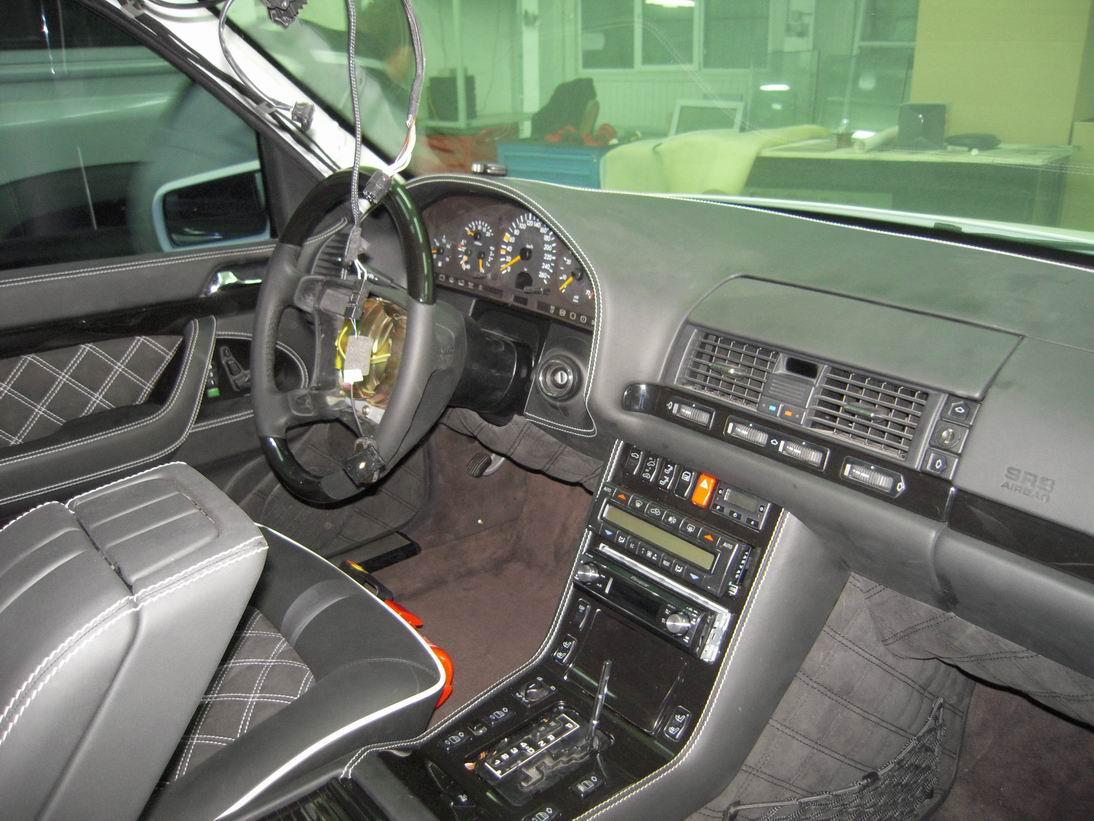 Mercedes Benz S600 W140 Fabulous Body Kit Benztuning