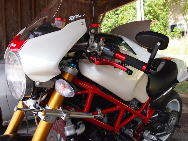 Rizoma Class Retro Universal Mirrors Ducati Ms The