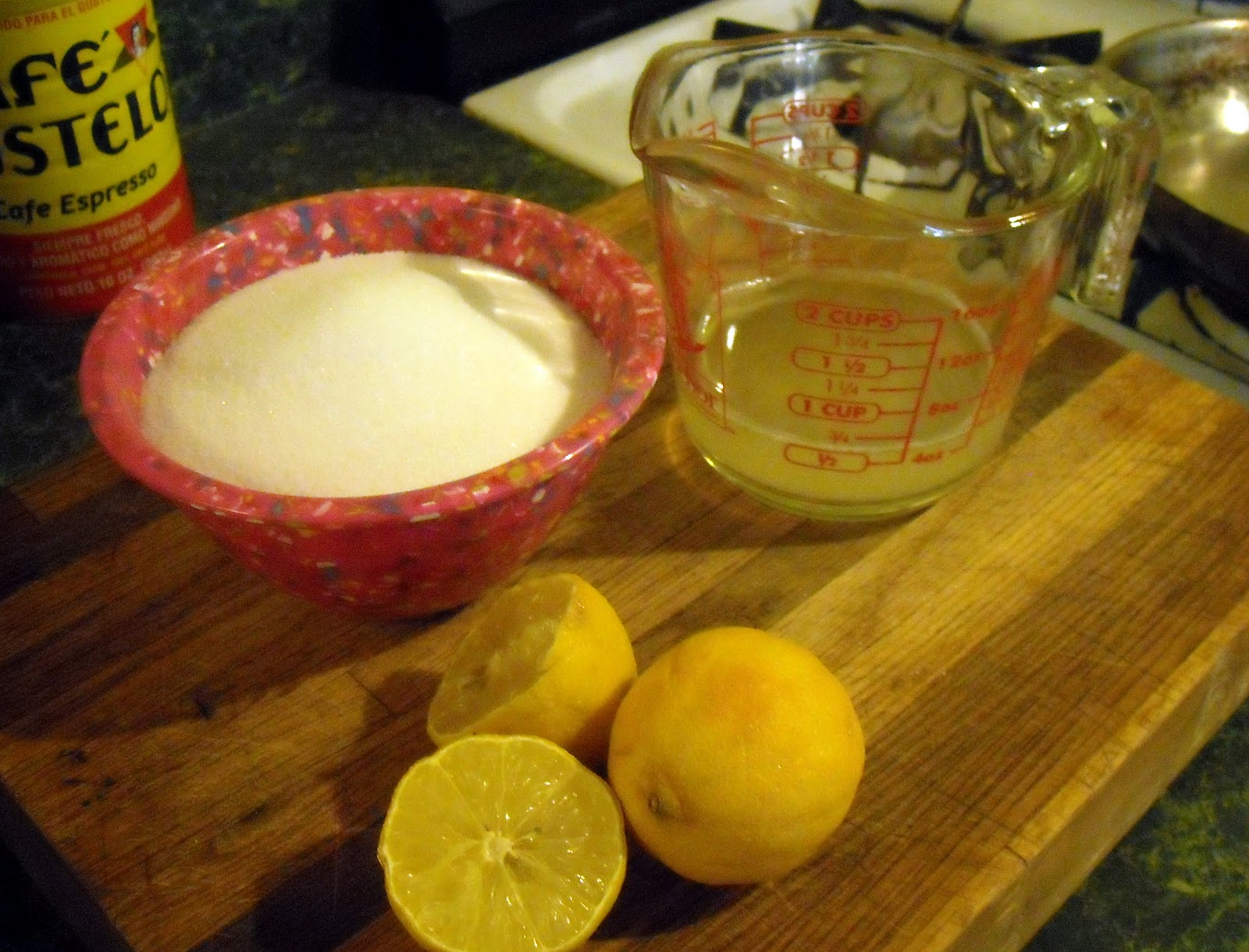 Cooking paste for shugaring