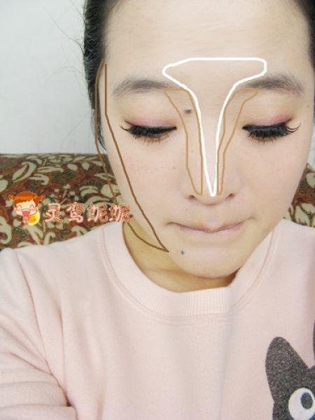 nose makeup. contouring nose us know