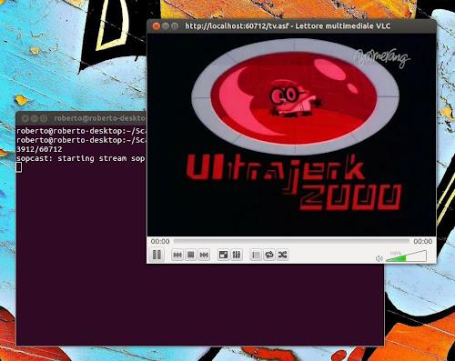 Sopcast con VLC