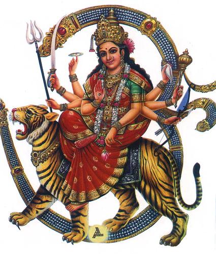 Hindu Goddess Durga Image