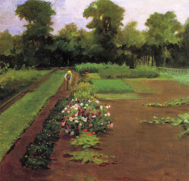 James Carroll Beckwith - New Hamburg Garden