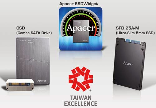 Apacer Award Winning Industrial SSD Manufacturer
