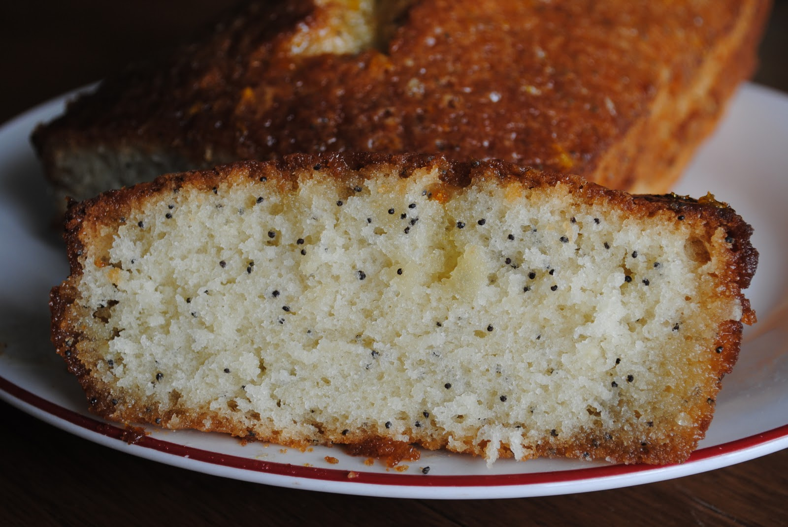 "Dairy Free ""Tried and True"": Poppy Seed Bread with Orange Glaze"