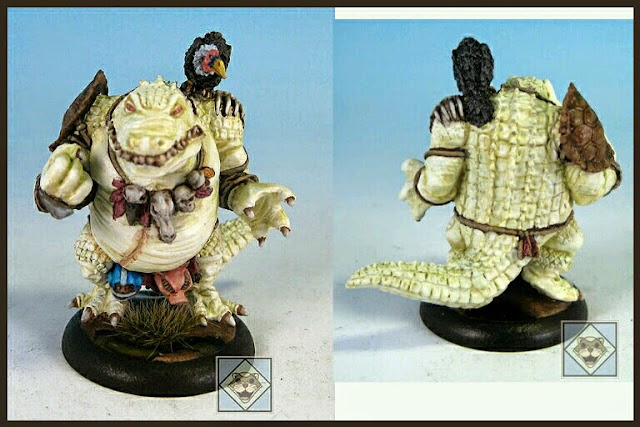 Kroxigor Greebo Miniatures