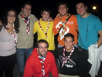 Redes ASDE, contingente Scouts Castilla-La Mancha