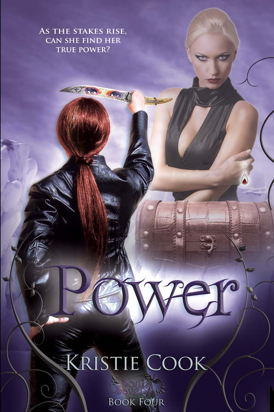 Cover Reveal: POWER by Kristie Cook