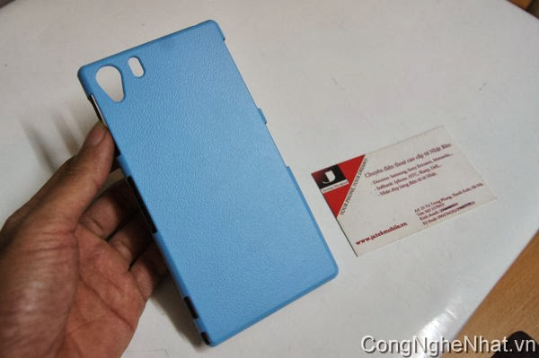 Ốp lưng cho Sony Xperia Z1 (SO-01F) Leather