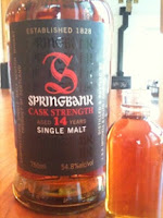 springbank cologne single malt trust Ahaus