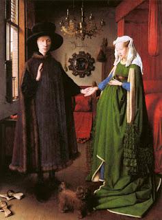 Comment avoir l'air cultivé devant un tableau inconnu de vous ? Van+Eyck+Arnolfini+Portrait