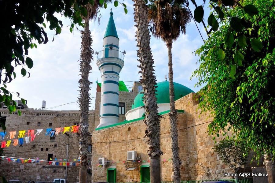 Мечеть в Акко. Экскурсия по Западной Галилее. Гид в Израиле Светлана Фиалкова.