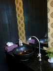 restroom in Silk cup