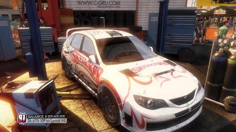 รายการรถกลุ่ม Rally ใน DiRT2 Sti-02