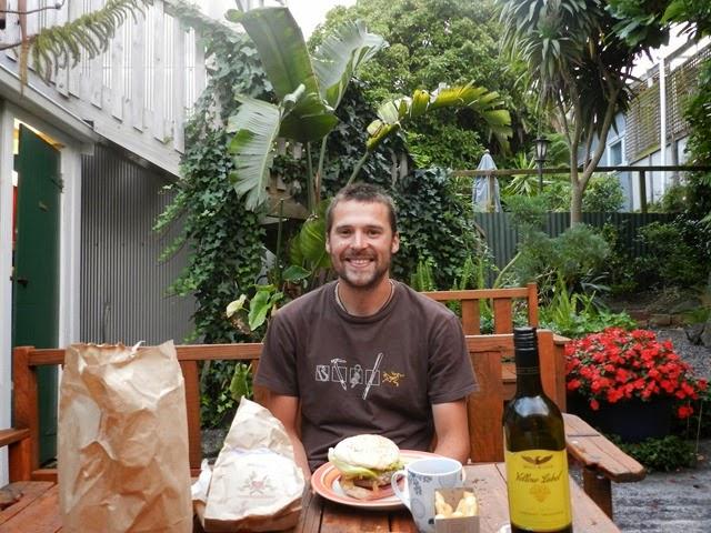 terrasse du Brown Kiwi