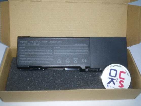 New Battery For Dell Inspiron 6400