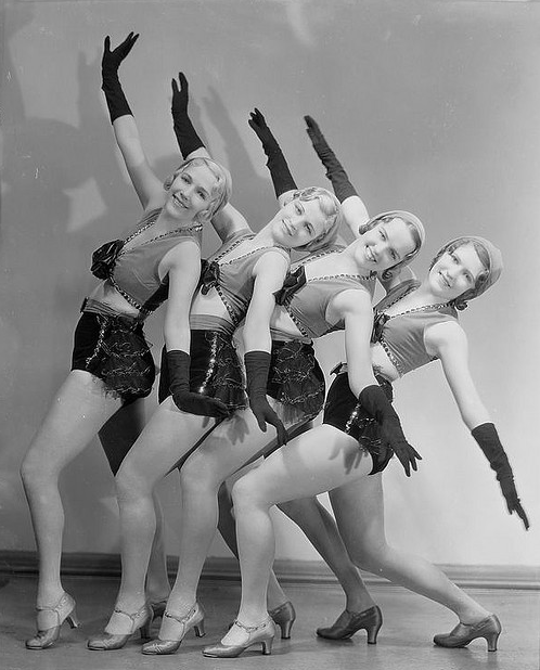 vintage danse rasch