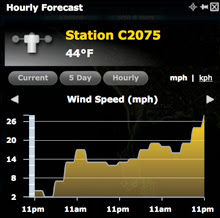 Spi Ouest wind speed forecast