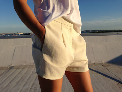 Acne Studios Sensational Ivory Shorts - ShopMyCloset