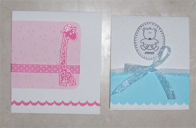 Invitación para baby shower de jirafa y osito