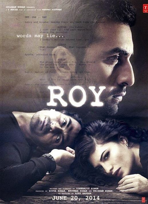Cover of Roy (2015) Hindi Movie Mp3 Songs Free Download Listen Online at Alldownloads4u.Com