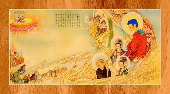 Bộ ảnh đẹp minh họa bản Kinh A Di Đà 12