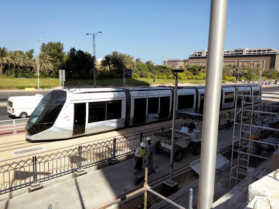 В Дубае открылось трамвайное движение!