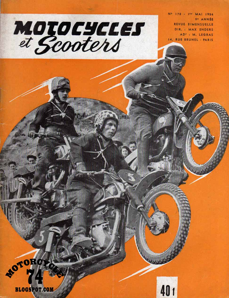 motorcycle magazine france mag french