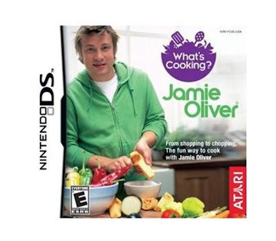 Kookspelletje van Jamie Oliver voor Nintendo DS