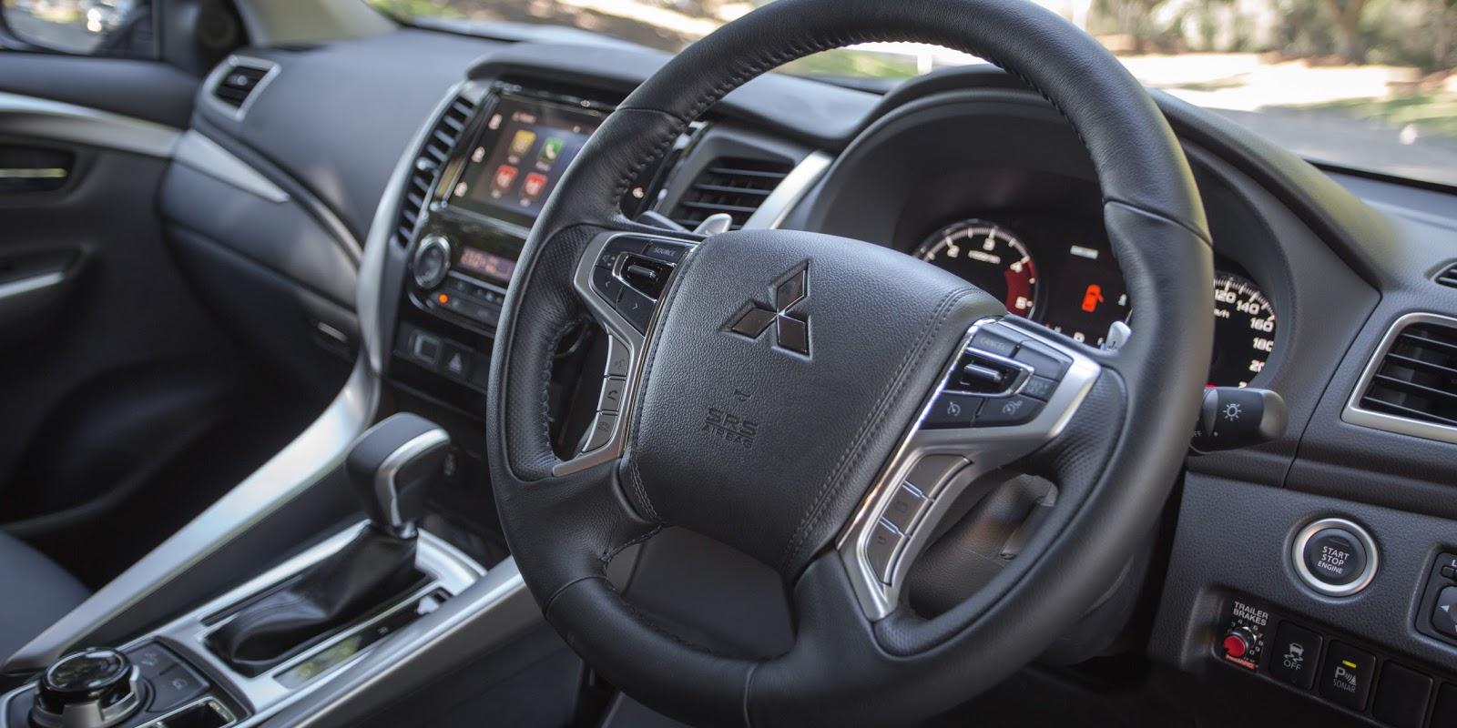 2016 Mitsubishi Pajero Sport GLS