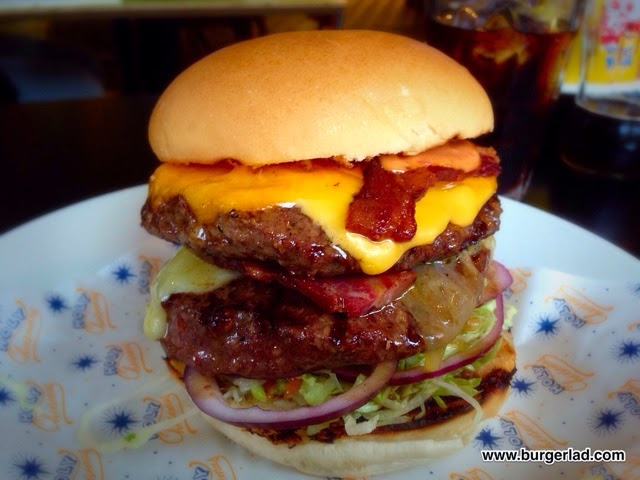 Byron Burgers Holy Cheesemas