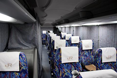 JR東海バス「北陸ドリーム名古屋号」 744-08955 車内