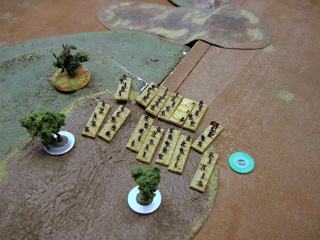 An infantry coy advances out of Whirlwind range.