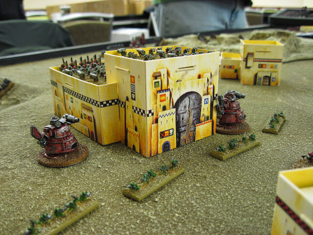 Eric's Orks defend their homes.