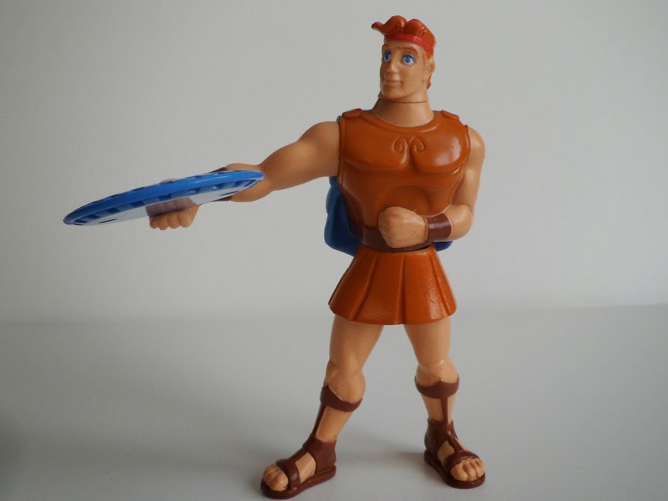 Toys For Hercules : Movie tie in toys restaurant collectables disney s
