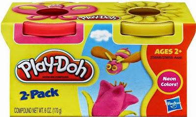 Bột nặn 2 màu Play-doh hình con ong rất an toàn đối với các em nhỏ