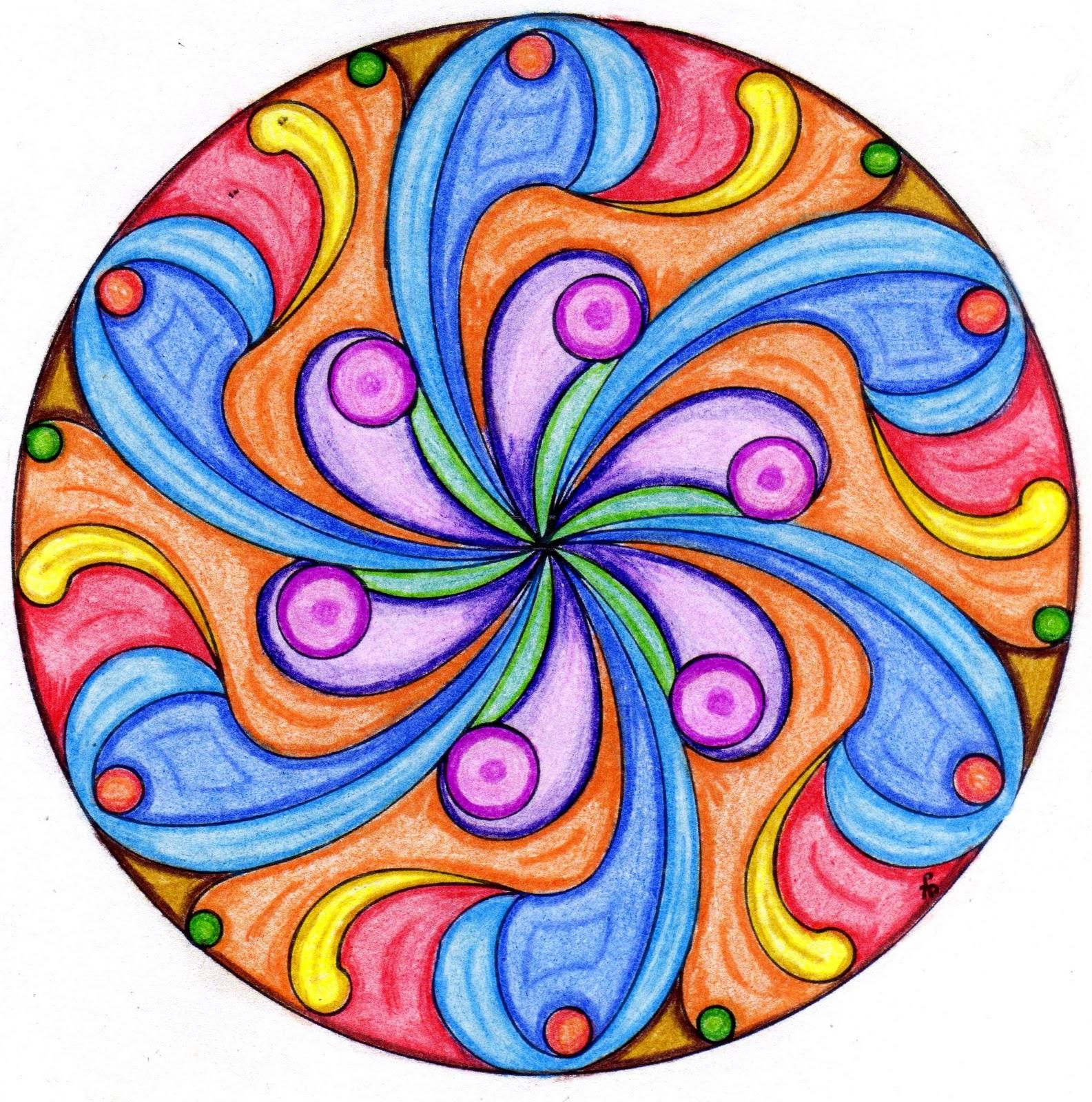 el delirio del lirium mandalas pintando dise os ajenos 1