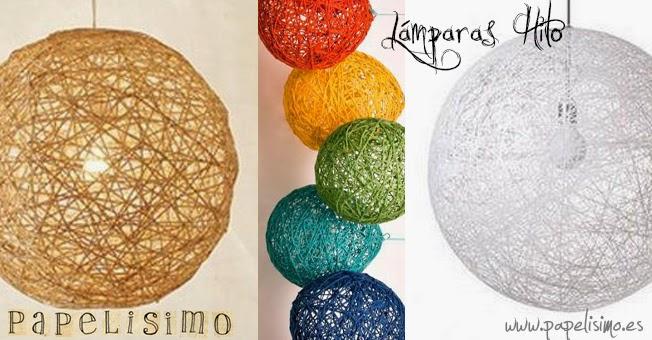 Haz tu l mpara por menos de 1 euro parte 3 for Lampara globo ikea
