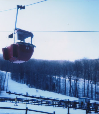 Gore Mountain's Old Red Gondola