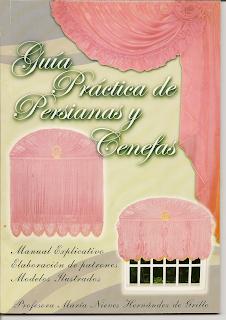 persianas, elaboración de cortinas, patrones para cenefa y cortinas